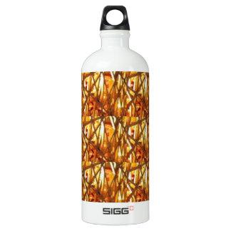 Keep Gold Energy Close : Wired Basket Weave Strand SIGG Traveler 1.0L Water Bottle