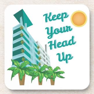 Keep Head Up Coaster