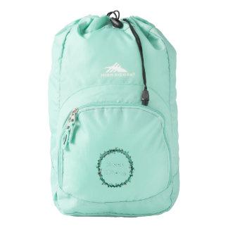 Keep Hiking Motivation High Sierra Backpack