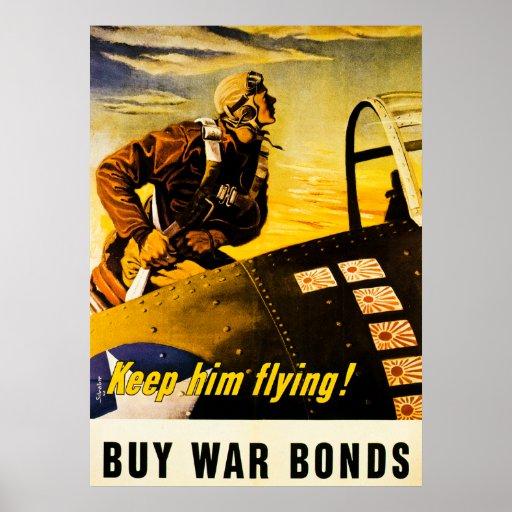 keep him flying  buy war bonds