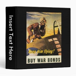 Keep Him Flying World War II Binder