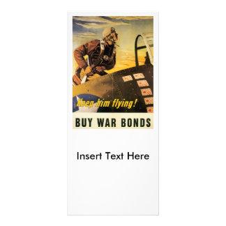 Keep Him Flying World War II Rack Card
