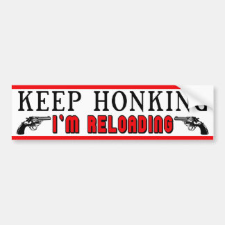 Keep Honking Bumper Stickers