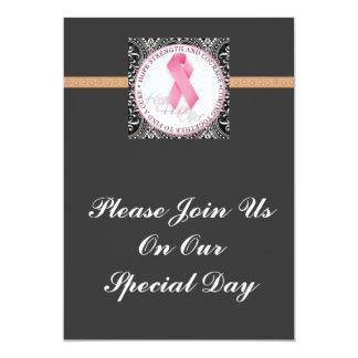 keep hope alive pink ribbon breast cancer card