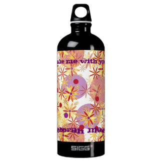 Keep Hydrated Aluminum Water Bottle