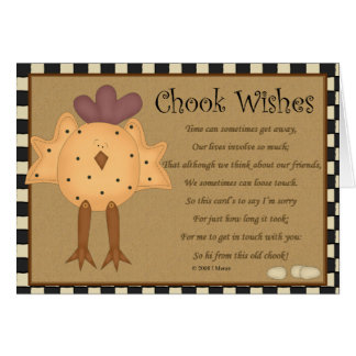 Keep In Touch Greeting Card