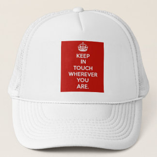 Keep in Touch Trucker Hat