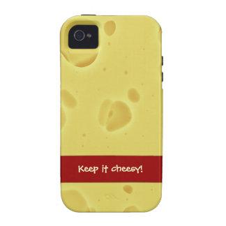 Keep it cheesy! - Iphone cubierta Vibe iPhone 4 Funda