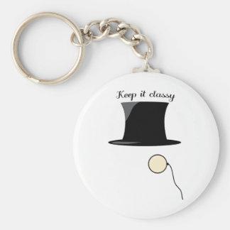 Keep It Classy Key Chain
