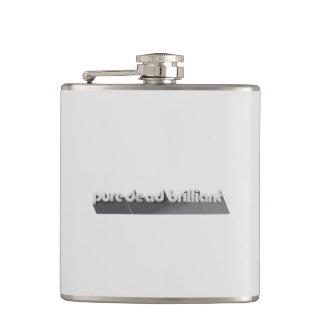 Keep it classy - pure dead brilliant hip flask