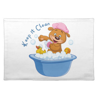 Keep it Clean Cloth Placemat