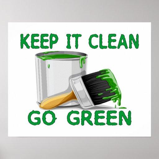 how to keep green bin clean