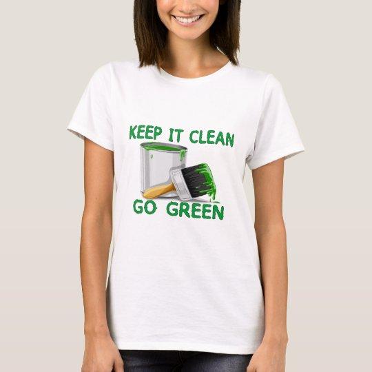 Keep It Clean Go Green T-Shirt
