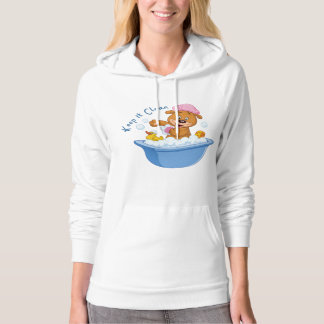 Keep it Clean Hooded Pullover