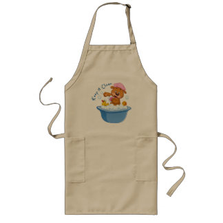 Keep it Clean Long Apron