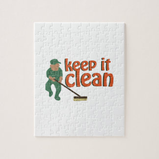 Keep It Clean Jigsaw Puzzles