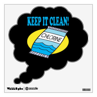Keep It Clean Wall Decal