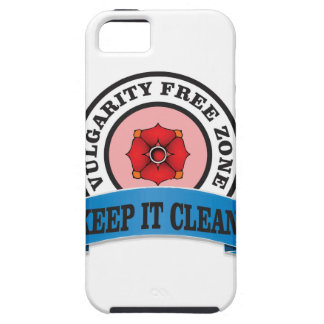 keep it clean zone iPhone SE/5/5s case