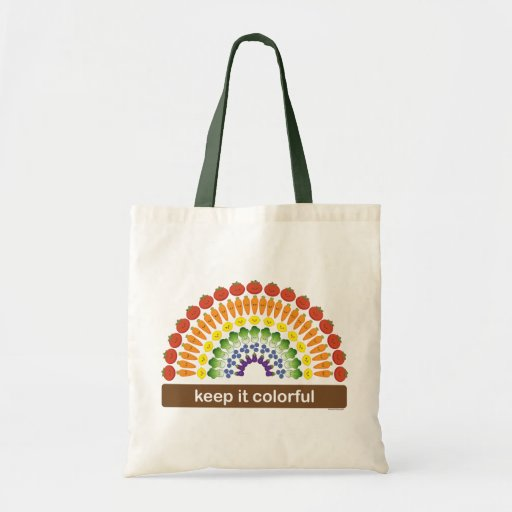 Keep It Colorful Budget Tote Bag