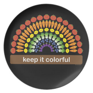 Keep It Colorful! Plate
