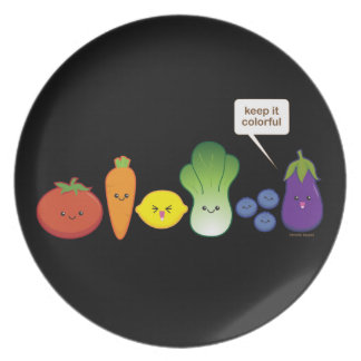 Keep It Colorful! Plates