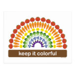 Keep It Colorful Post Card