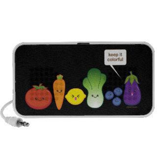 Keep It Colorful (Simple Design) iPhone Speaker