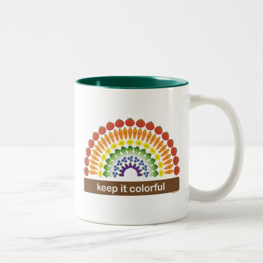 Keep It Colorful Two-Tone Coffee Mug