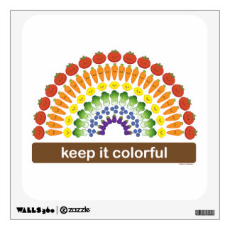 Keep It Colorful! Wall Sticker