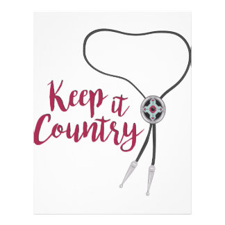 Keep It Country Letterhead