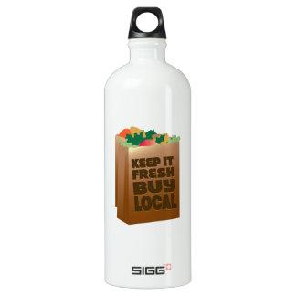 Keep It Fresh Buy Local SIGG Traveler 1.0L Water Bottle