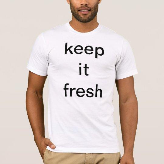 keep it fresh sfl tee
