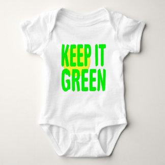 Keep It Green Baby Bodysuit