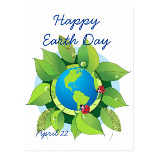 Keep it Green for Earth Day Postcard