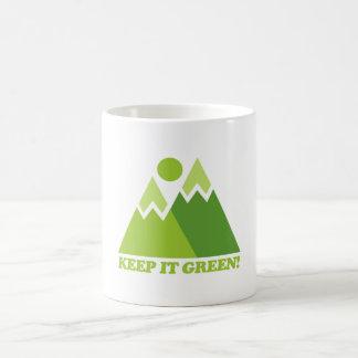 Keep it Green Mountains Coffee Mug