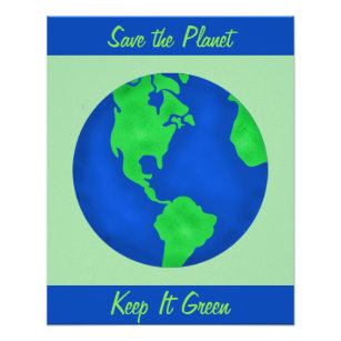 Easy Poster On Save Trees With Slogan