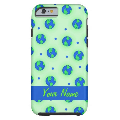 Keep It Green Save Earth Environment Personalized iPhone 6 Case