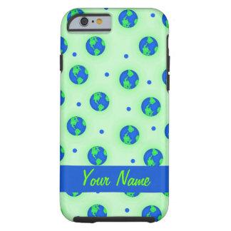 Keep It Green Save Earth Globe Pattern Art Tough iPhone 6 Case
