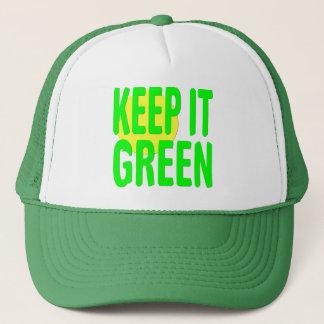 Keep It Green Trucker Hat