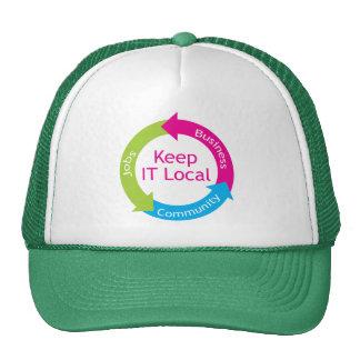Keep It Local Trucker Hat