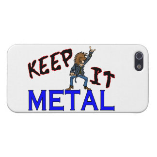 Keep It Metal Cover For iPhone SE/5/5s