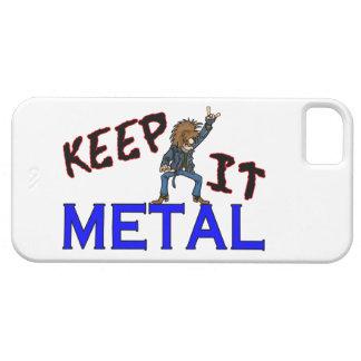 Keep It Metal iPhone SE/5/5s Case