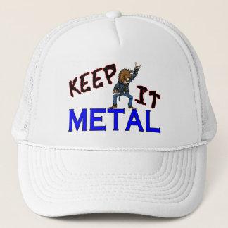 Keep It Metal Trucker Hat