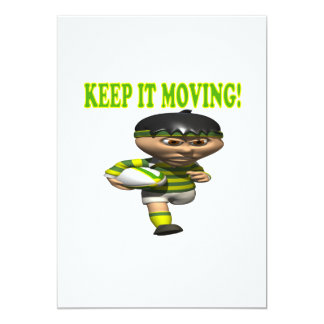 Keep It Moving Card