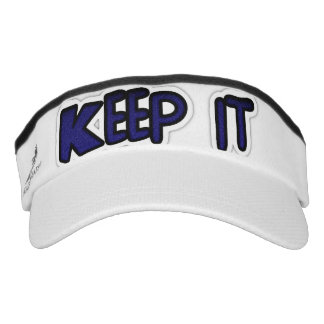 Keep it Nice and Lovely comfortable head wear fit Headsweats Visor