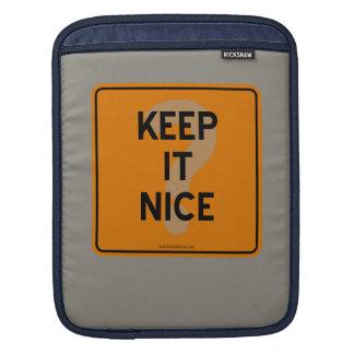 KEEP IT NICE? SLEEVE FOR iPads
