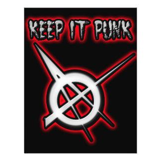 KEEP IT PUNK ROCK FLYER
