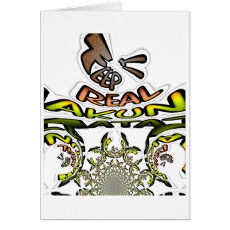 keep it real Hakuna Matata Always Card