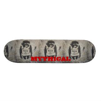keep it real monkey deck skate board