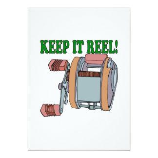 Keep It Reel 2 5x7 Paper Invitation Card